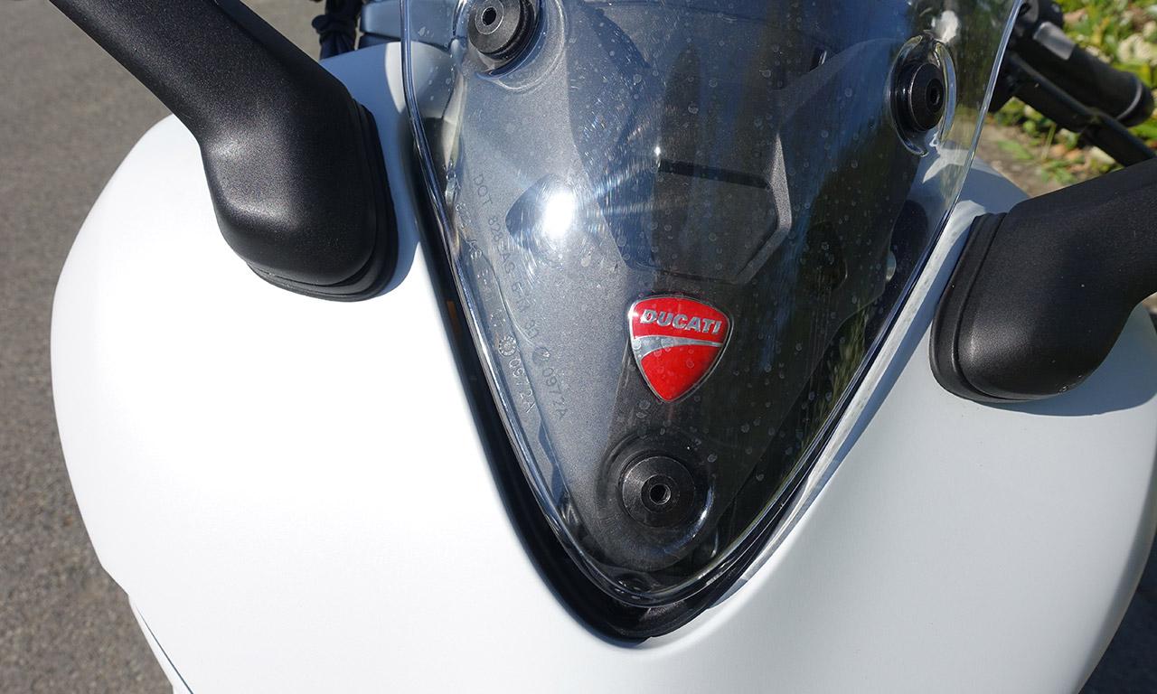 Bulle réglable sur le Super Sport Ducati
