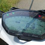 tableau de bord Supersport Ducati (vue 1)