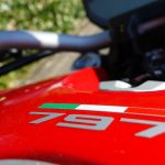 Monster 797 Ducati rouge