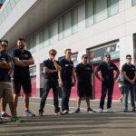 Staff Michelin à Losail au Qatar