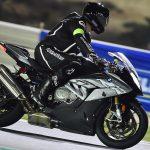 David Jazt sur le circuit de Losail (Qatar) en S1000RR