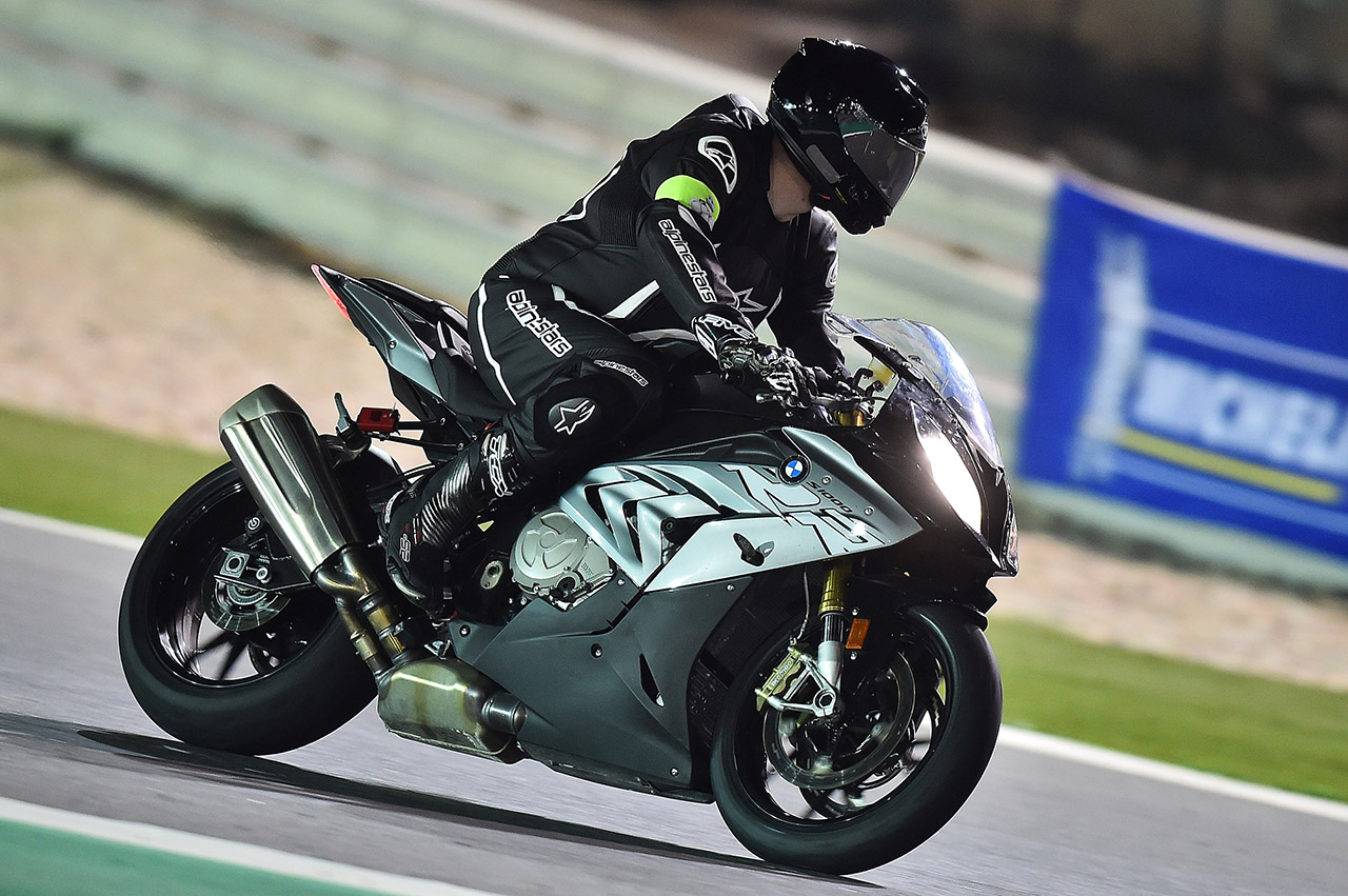 David Jazt en S1000RR au Qatar