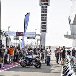 Arrivée sur le circuit de Losail : les motos à disposition