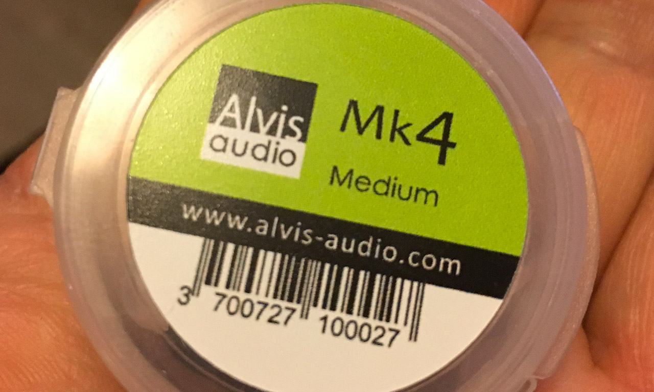 Bouchon d'oreille MK4 Alvis Audio