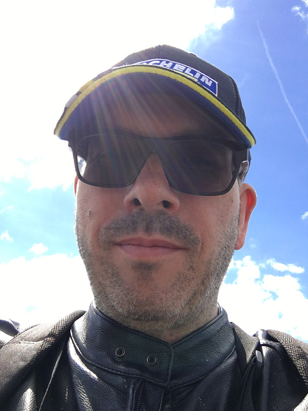 David Jazt au MotoGP de France