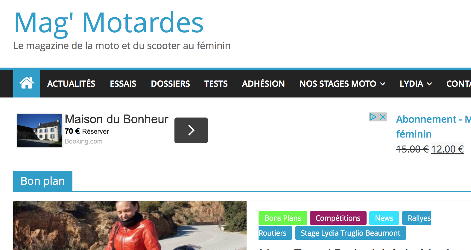 Site web de Lydia Truglio Beaumont : Miss RR