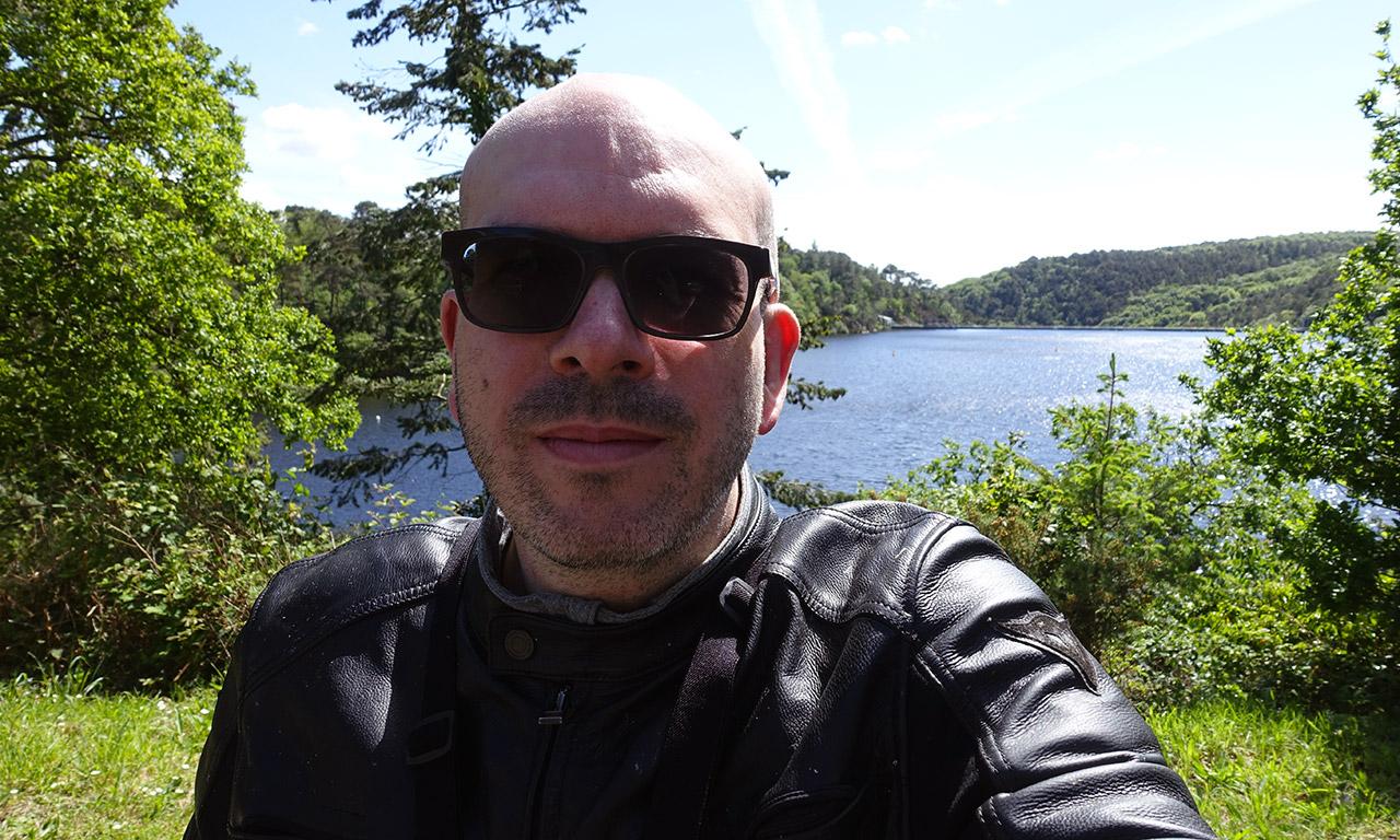 David Jazt au Lac de Guerlédan