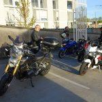 Motard Rennais à Guingamp