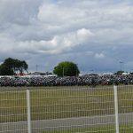Parking moto AMV au Mans