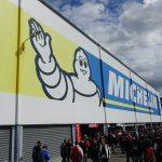 logo michelin au Moto GP