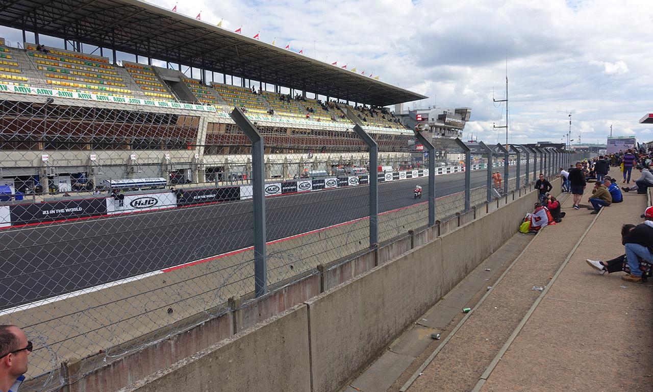 Grille de départ du circuit au Mans