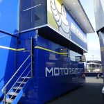 camion double niveau Moto GP Michelin