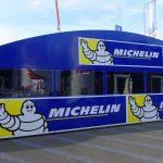 Atelier mécanique Michelin au MotoGP