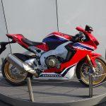 Honda CBR dans les Paddocks Moto Grand Prix Le Mans