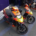 Les scooters KTM