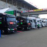 visite des paddocks au Moto GP Le Mans