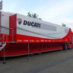 Camion Ducati au MotoGP