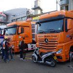 Camion Honda au MotoGP