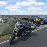 Parking sur Maison Blanche (circuit des 24h du Mans)