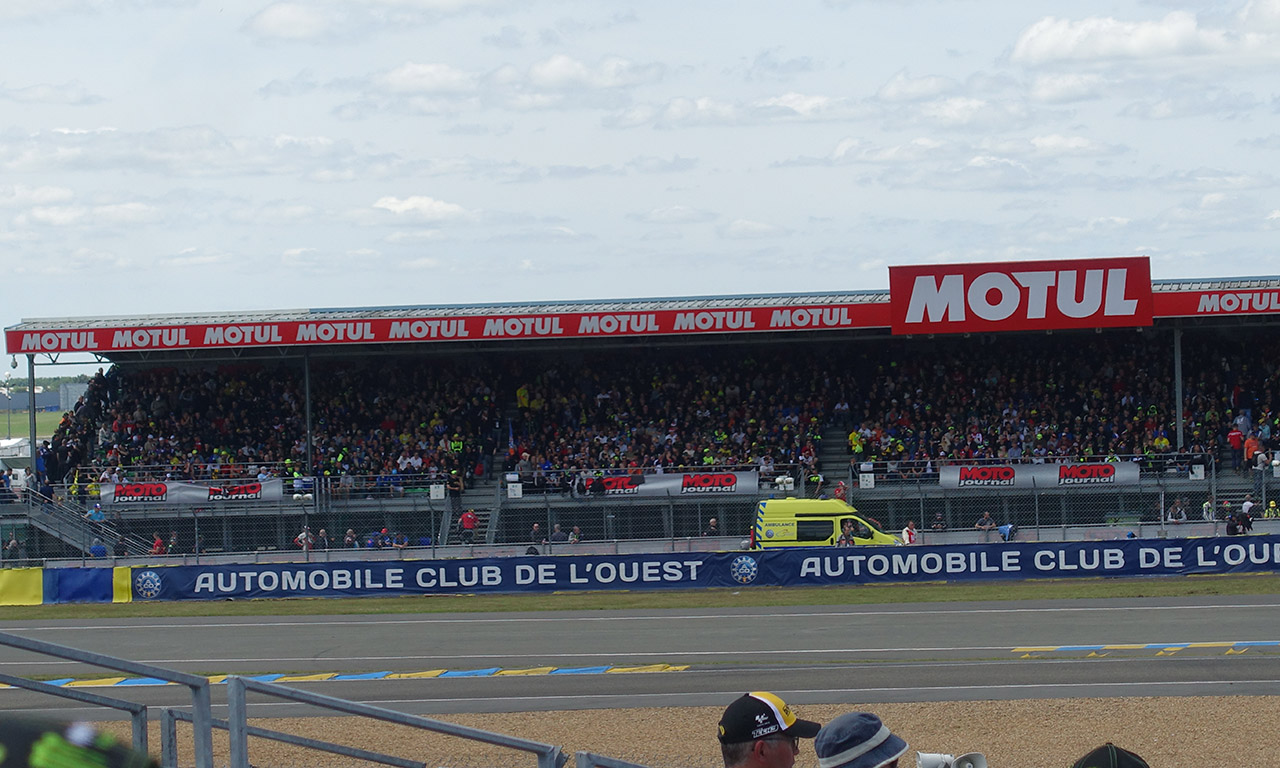 Laurent, tribune MOTUL