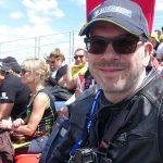 David Jazt, Tribune Ouest France sur le circuit des 24h du Mans pour le Moto GP