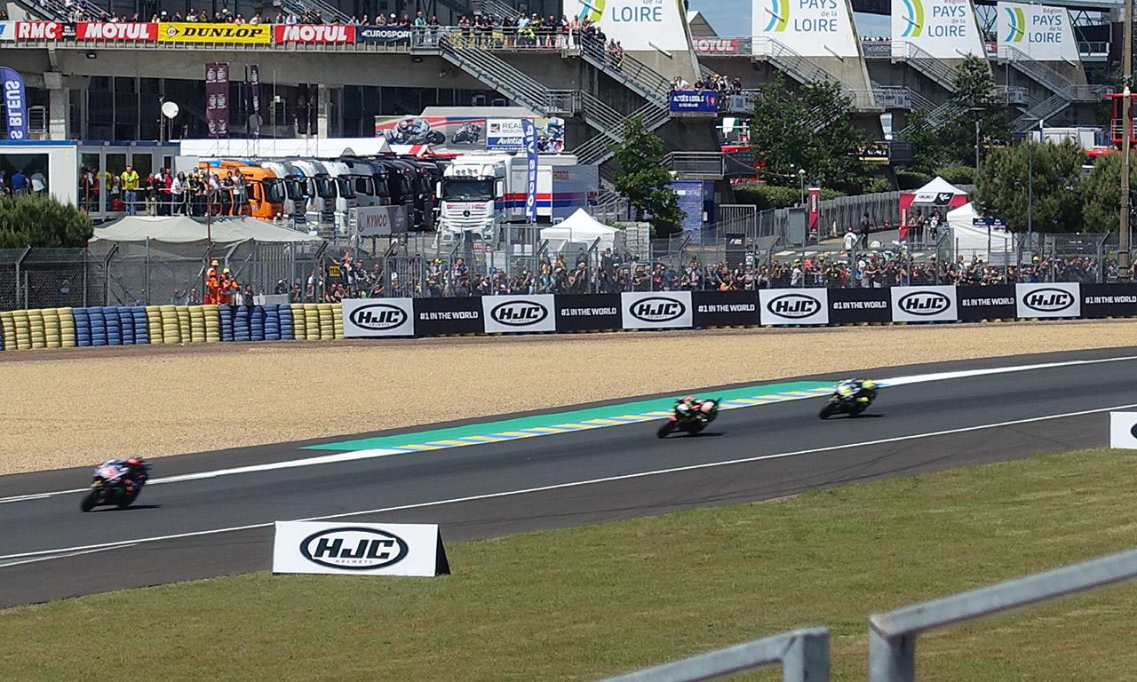course à moto Le Mans