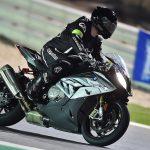 David Jazt en S1000RR sur le circuit de Losail au Qatar