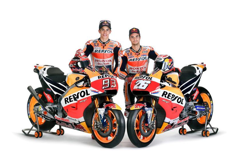 Team Honda Moto GP 2017 : Marquez & Pedrosa