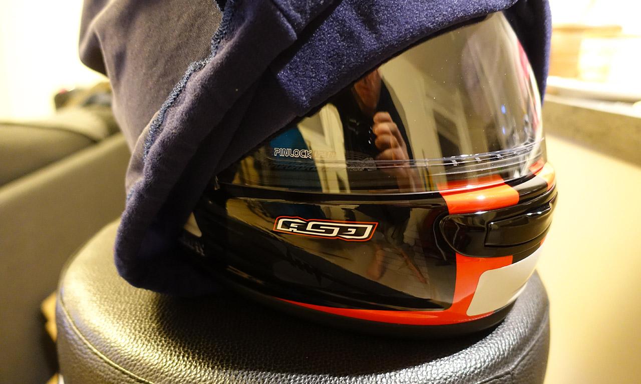 découverte du casque moto Arai Chaser 5