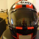 nouveau casque de moto de David Jazt