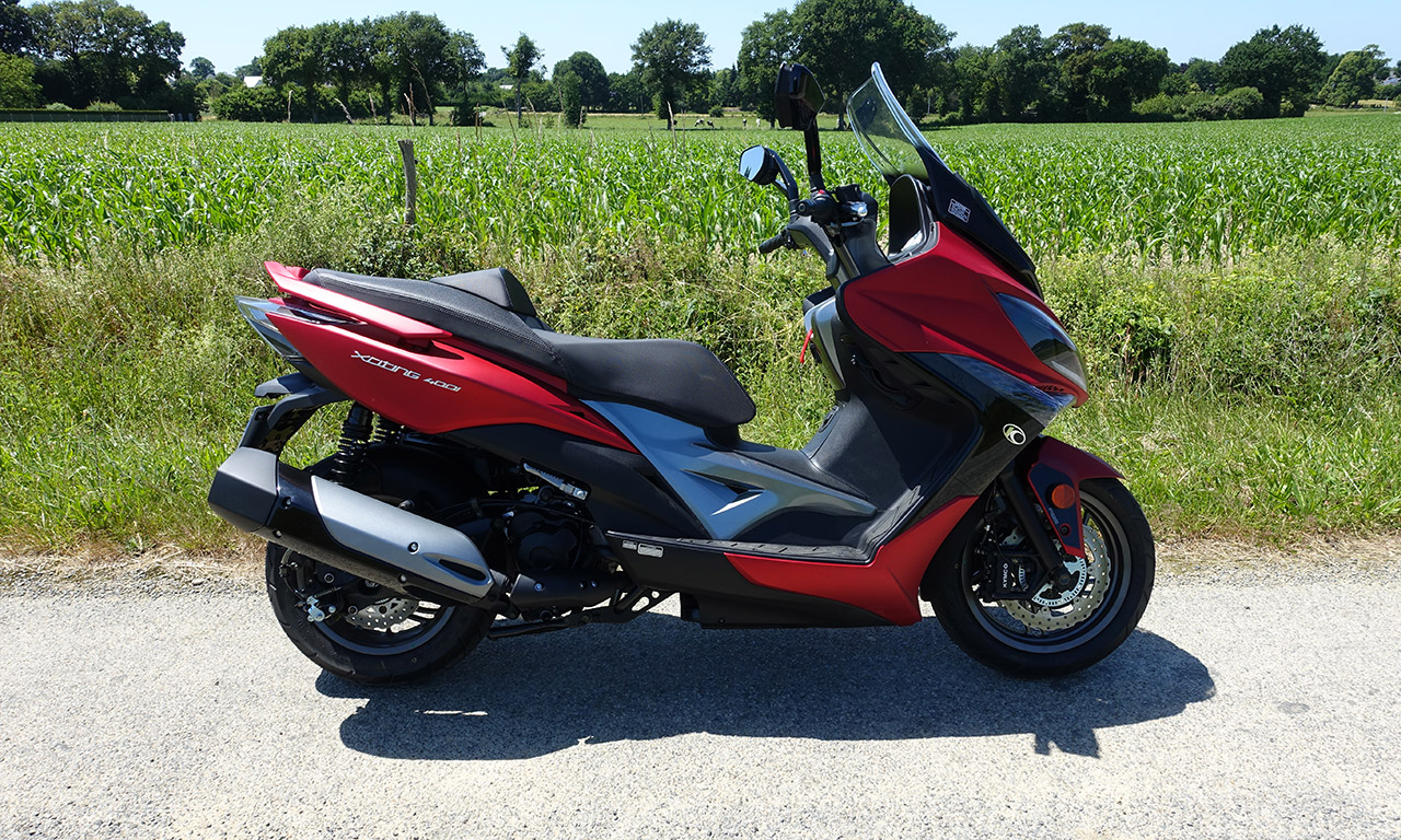 Kymco Xciting 400 ABS i 2017