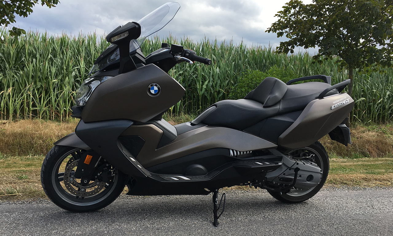 maxi scooter GT 650 BMW