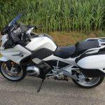 BMW blanche R1200RT