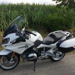essai moto BMW R 1200 RT blanche