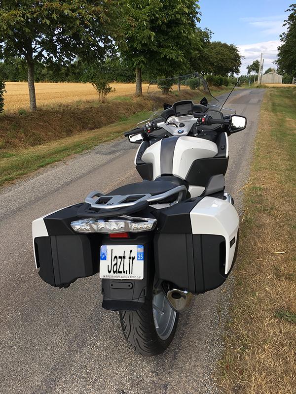 Moto R1200RT 2018 : couleur blanche