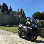 Essai du maxi scooter GT 650 BMW autour de Rennes