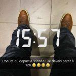 Départ de Rennes