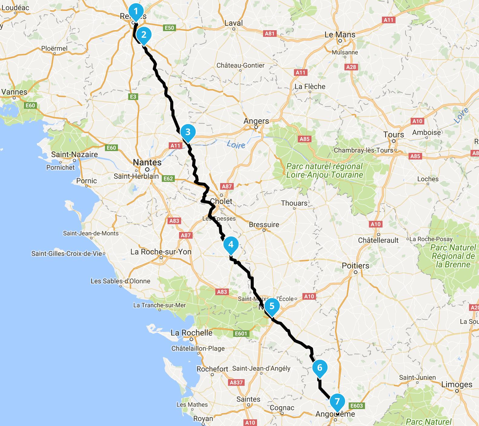 roadbook avec navigator 5 BMW