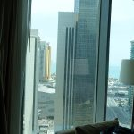 vue mer depuis ma chambre d'hôtel