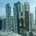 vue de ma chambre à Doha