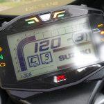 tableau de bord du GSXR 1000