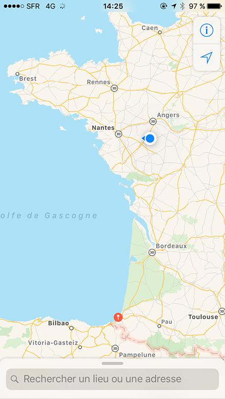 entre Nantes et Angers : la pluie est de retour