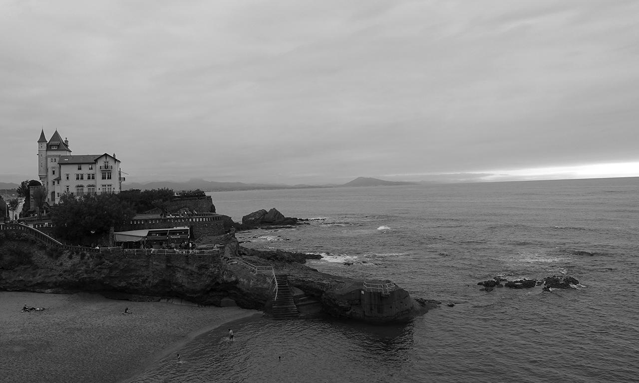 bord de mer : Biarritz