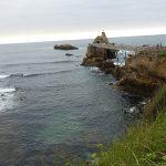 avancée dans la mer à Biarritz