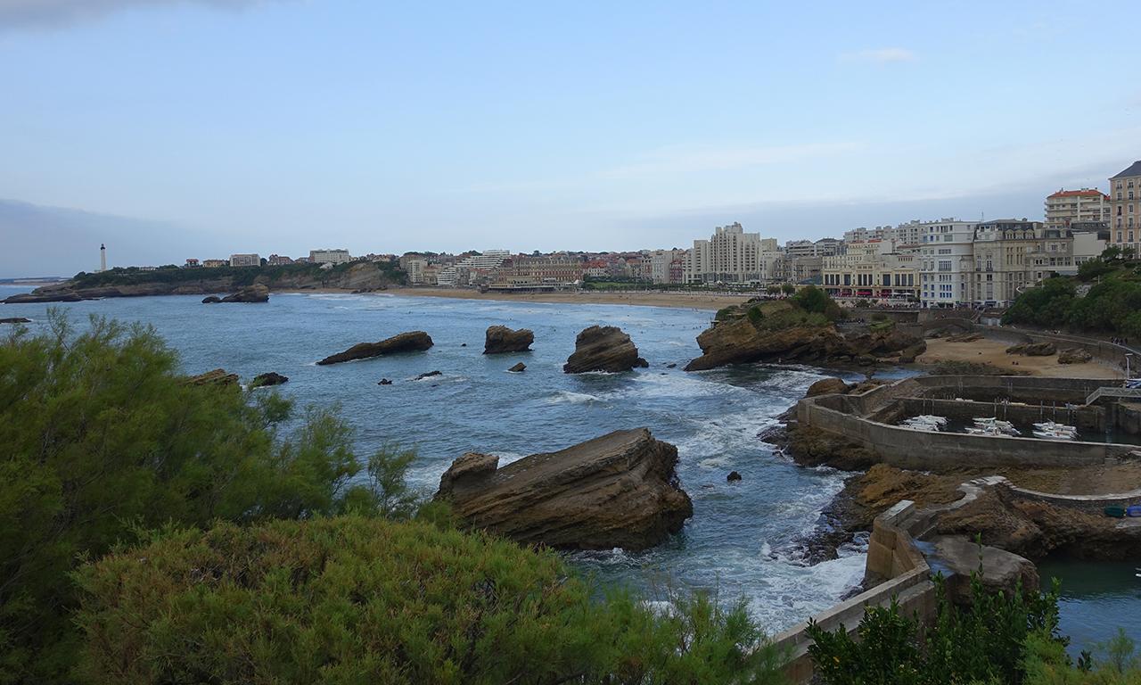 vue mer : Biarritz