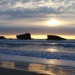 romantique : vue mer à Biarritz