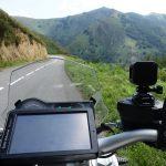randonnée motarde dans les montagnes