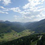 vue sur la vallée dans les Pyrénées