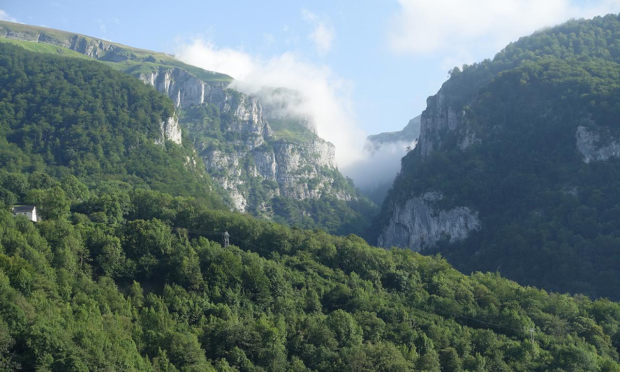 Pyrénées l'été