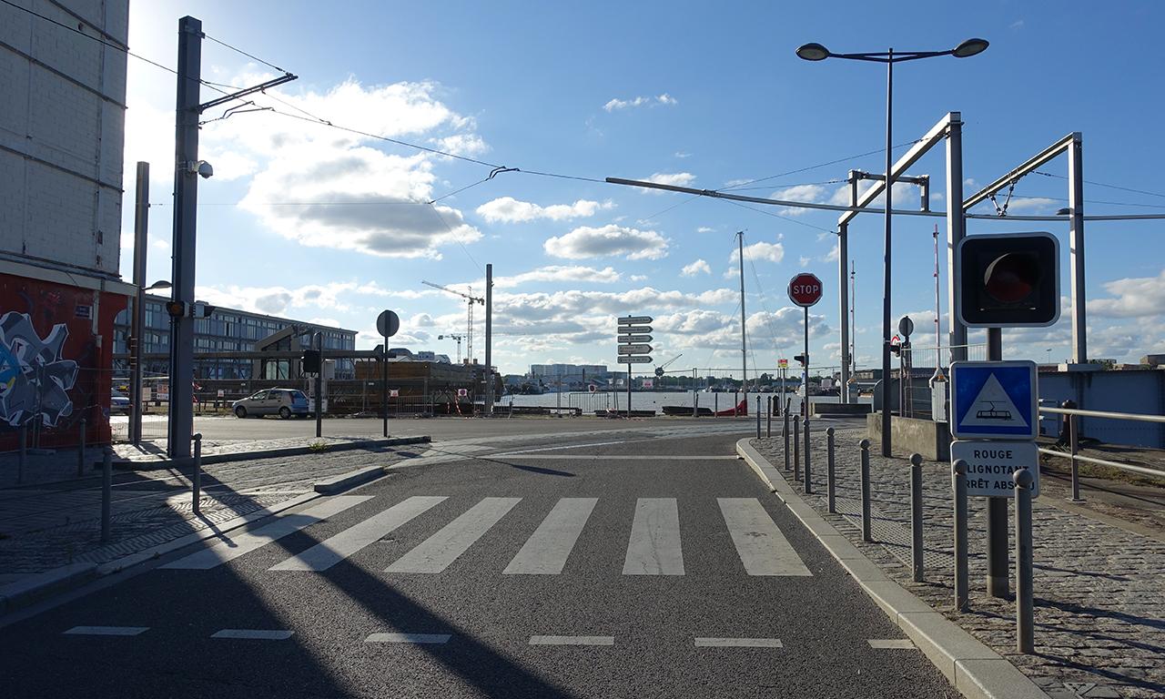 derrière Cdiscount à Bordeaux